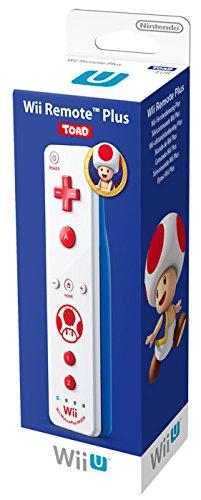 Nintendo Wii U und Wii - Remote Plus, weißes Toad Design