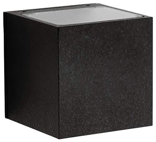 Albert 662372 außenwand Spot, aluminium, Integrated, noir