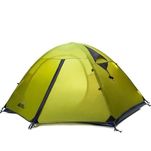 Outdoor Gear-Montagne-Outdoor Poteau de Aluminium coupe-vent respirant équipement de camping double étage Tente de camping