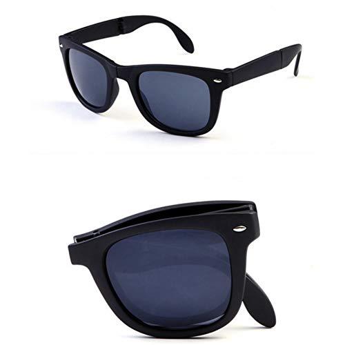 CCGSDJ Folding Sonnenbrillen Mann Frauen Brand Design Gefaltete Eyewear Mit Original Faltbare Brille Unisex Sonnenbrille Gespiegelt