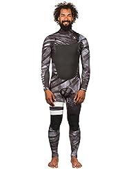 Hurley Fusion 302 Fullsuit, Color: Black C, Size: L