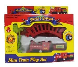 Shree Sai International Shree Sai Play Mini Train Toy Set