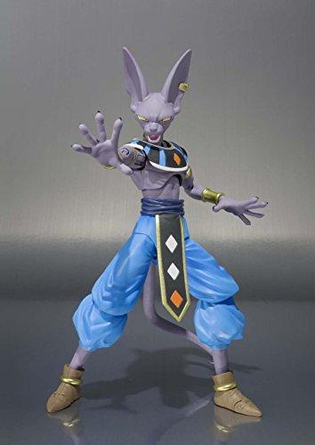 TAMASHII NATIONS Bandai Beerus Dragon Ball Super Figura de acción 3