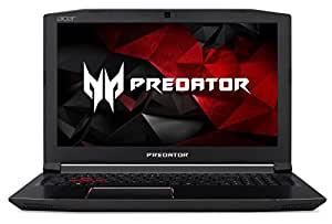 "Acer Predator Helios 300 Gaming Laptop, Intel Core i7, GeForce GTX 1060, 15.6"" Full HD, 16GB DDR4, 256GB SSD with US Keyboard"
