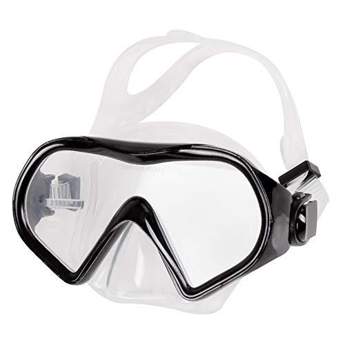 MHP Goggles-Set voll trockenes, professionelles, ungiftiges Silikon-Taucherbrillen-Set, blau