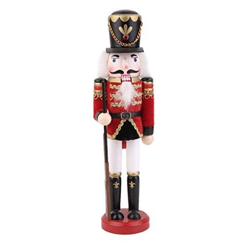 Arpoador - Soldat casse-noisette en bois sur pied - 30cm de haut