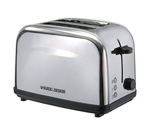 Black & Decker Et222 2-slice Stainless Steel Pop-up Toaster