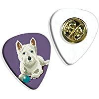 West Highland Terrier Westie Martin Wiscombe Guitar Pick Distintivo Badge