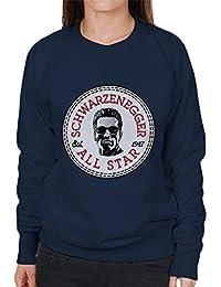 Arnold Schwarzenegger All Star Converse Logo Women's Sweatshirt