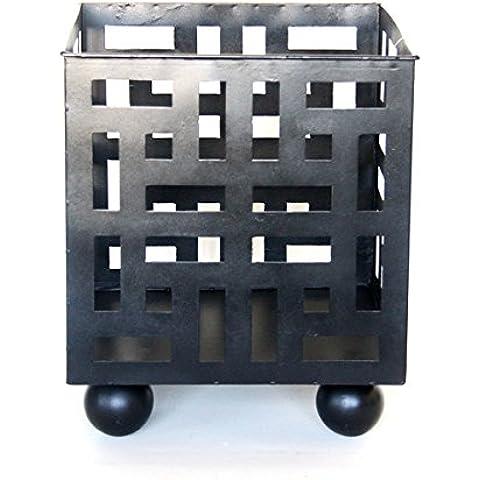 Superb Braciere quadrato in acciaio–Crea il Patio