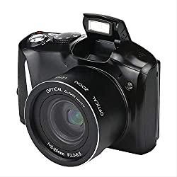 """24 mégapixels Tele HD Home Photographie Appareil Photo Reflex Capteur CMOS Zoom 20x JPEG/AVI Écran SLR 3,5""""avec Flash"""