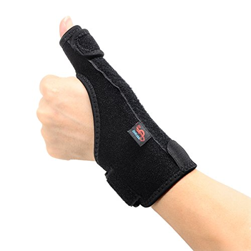 AOLIKES Daumen Schiene Bandage Spica Hand Stütze Daumengrundgelenk Tendonitis Vertauchung Arthritis Frakturen Rechts Links