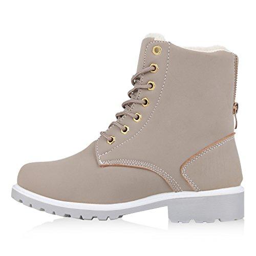 Outdoor Warm Gefüttert Stiefeletten Zipper Herren Grau Boots Worker Unisex Damen 0wx8nTIS7q