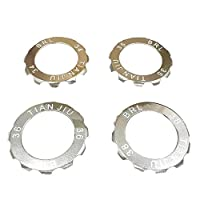 ljym88 Watch Opener Kit 4Pcs Tool Multilateral Type Practical Professional Remover Watchmaker Repair Accessories Back Case Durable Metal Portable