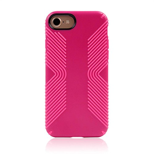 Cover per iPhone 7, Tpulling Custodia per iPhone 7 Case Cover Custodia protettiva dura di ShockProof ibrida per IPhone 7 4.7 pollici (black) Hot Pink