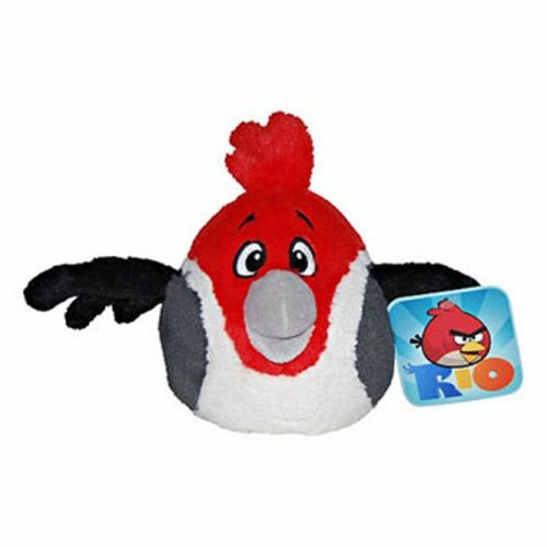 Angry Bird Rio Red Pedro 12 Zoll, weiches Spielzeug