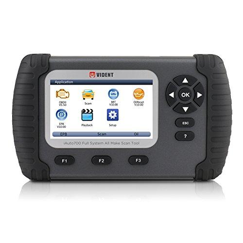 MRCARTOOL IAUTO70010,9cm LCD Sistema Completo Professionale Strumento diagnostico, Olio Reset Epb ABS SAS airbag Reset, configurazione Batteria, rigenerazione Dpf, valvola a Farfalla allineamento