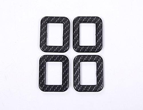 METYOUCAR-ABS-Carbon-Fiber-color-Door-Safe-Lock-Button-cover-Trim