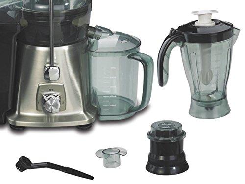 Multifunción Profi-Exprimidor en forma de prensa, 950W, incluye batidora y molinillo de café; JC de 302ggg