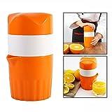Cisixin Extractor de Jugo de Plástico Manual de Frutas de Limón, Naranja