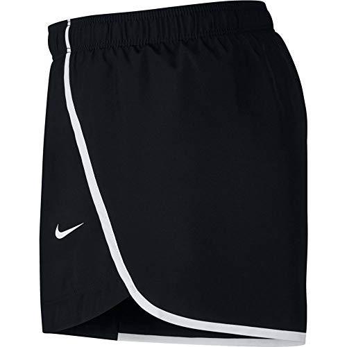 Nike Mädchen G NK Dry Run Shorts, Black/White, XS