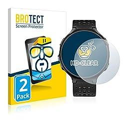 brotect Pellicola Protettiva Compatibile con Garmin Forerunner 235 Pellicola Trasparente (2 Pezzi) Anti-Impronte