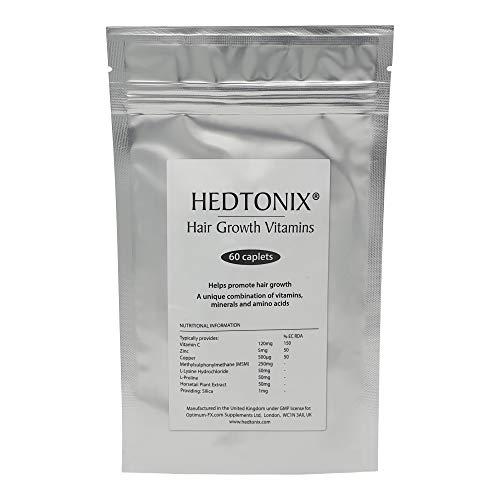 Cápsulas Hedtonix Suplemento Vitamínico Para El Crecimiento Del cabello - Cápsulas Para Hombre y Mujer - 60 Cápsulas