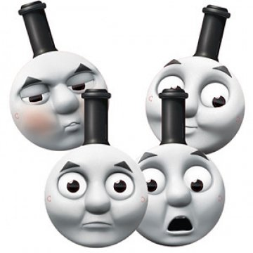 Thomas The Tank Masks