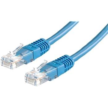 Netzwerkkabel CAT 5e Blau SF//UTP Patchkabel Farbe