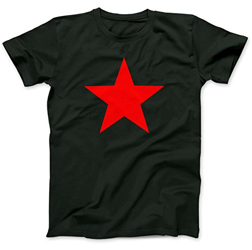 Red Star As Worn By T-Shirt 100% Premium Cotton