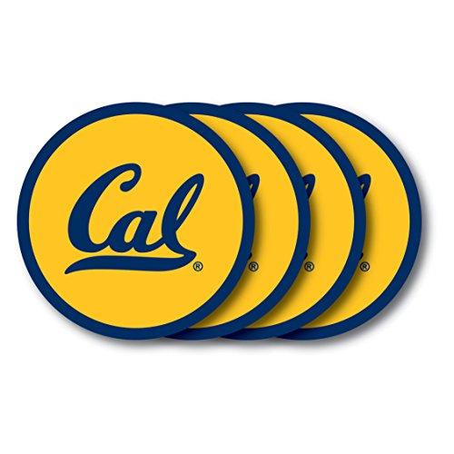 Duck House NCAA Universität California-Berkeley Untersetzer Set (4er Pack) Uc Berkeley Bears