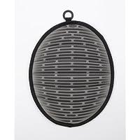 OXO 1148607-Agarrador imbottito in silicone, con magnete, colore: nero/grigio