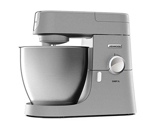 Preisvergleich Produktbild Kenwood Chef XL KVL 4110S Küchenmaschine | Füllmenge 6,7 L | Inkl. 3-teiliges Patisserie Set | 1,5 L Mixaufsatz | 1.200 Watt | Küchenhelfer mit  3 motorbetriebenen Zubehör Anschlüssen