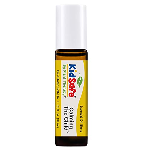 Plant Therapy Kidsafe Calming the Child Synergy Pre-Diluted Roll-On 10mL (1/3 oz) 100% Pure, Therapeutic Grade
