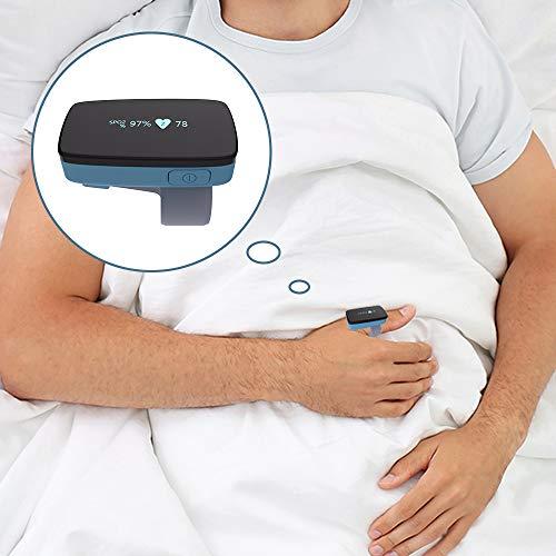 Sleep Oxygen Monitor mit Vibrationsalarm für Schlafapnoe, Ersetzen des Pulsoximeters für die CPAP-Maschine durch Schnarchlösung