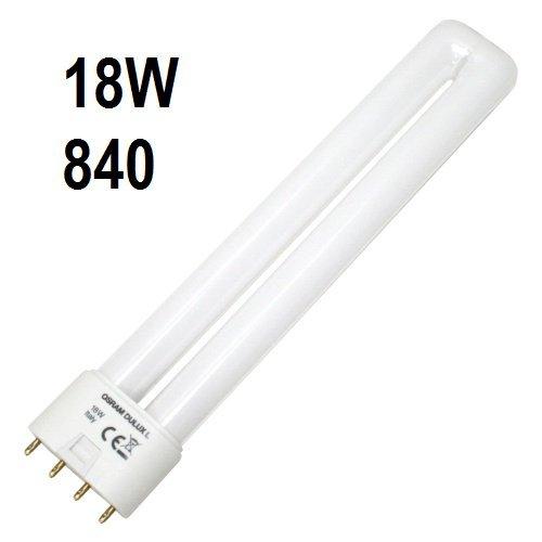 Biax 18W PLL-l Compact Fluorescent 4 PIN 840, Kühles Weiß
