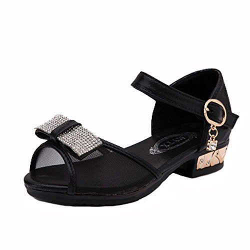 Princess-Sommer-Schuhe Damen Schuhe Bow Mesh-Sandalen Toe Strass Wenig (Damen-schuhe Wenig)