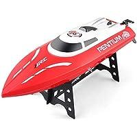 WQGNMJZ Barco del RC, Barco teledirigido de Alta Velocidad S1, Modelo del Barco del Juguete, reajuste de la Nave, Dispositivo de enfriamiento de la circulación del Agua