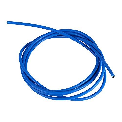 Alomejor Fahrradbremskabel 2m 5 Farben Fahrrad Austauschbare Bremskabel Schaltkabel Fahrrad Zubehör für Mountainbike(4mm Shift Cable-Blau)