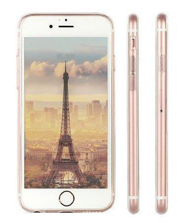 iPhone SE Case, iPhone 5S 5 Silicone Cover, UCMDA Soft Transparent Clear Slim Bumper Case, Shock-Absorption Cover with Anti-Scratch Back - Cute Panda Panda