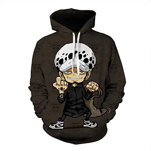 Kostüm 80's Cartoon Coole - Cartoon Cartoon Kleidung Männer und Frauen allgemeine 3D gedruckt Pullover Hoodie Sweatshirt S-M