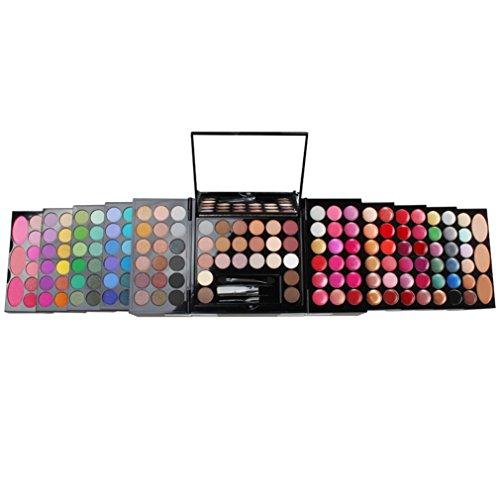 PhantomSky 148 Farben Lidschatten Palette Makeup Kit mit Augenbraue Puder, Lipgloss, Concealer, Pulver und Rouge - Perfekt für Profi-und tägliche