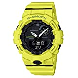 G-Shock by Casio Men's Analog-Digital GBA800-9A Bluetooth Watch Lime Green