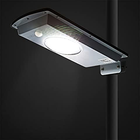 Solar Street Light, LESHP 8W LED Pathway Road Lights Waterproof Motion Sensor Light