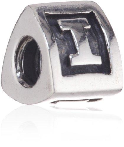 Pandora Damen-Bead Sterling-Silber 925 Buchstabenelement I Kasi 79323-I