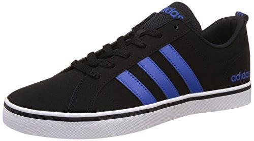 adidas Herren Pace Vs Fitnessschuhe, Schwarz, Schwarz (Negbas/Blau/Ftwbla), 40 2/3 EU (Schuh Boxen Kunststoff)