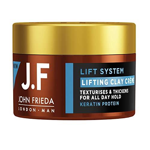 John Frieda Man Lifting Clay Creme - Stylingcreme - Mit Keratin-Protein, 136 g