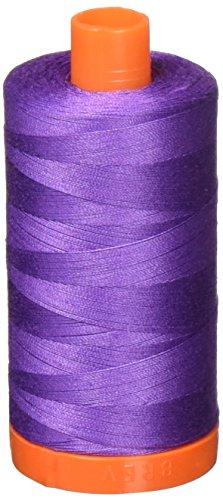 Aurifil,-1243massiv 50WT 1422yds Dusty Lavendel Mako-Baumwolle Gewinde -
