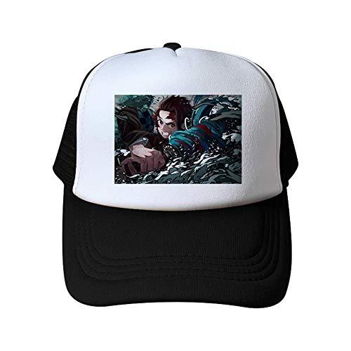 Ailin Online Demon Slayer: Kimetsu Nein Yaiba Baseball Kappe, Unisex Freizeit Verstellbarer Snapback Hut für Sports & Outdoor - Stil 13