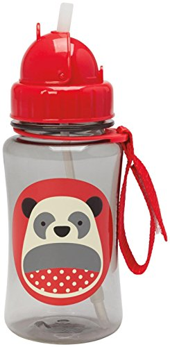 Skip Hop SKI-STRAWBOT-PAN Trinklernflasche, Motiv Panda